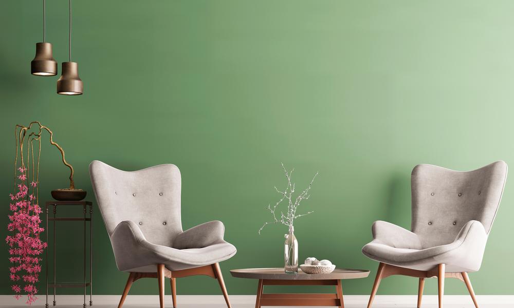 hottest χρώματα τοίχων