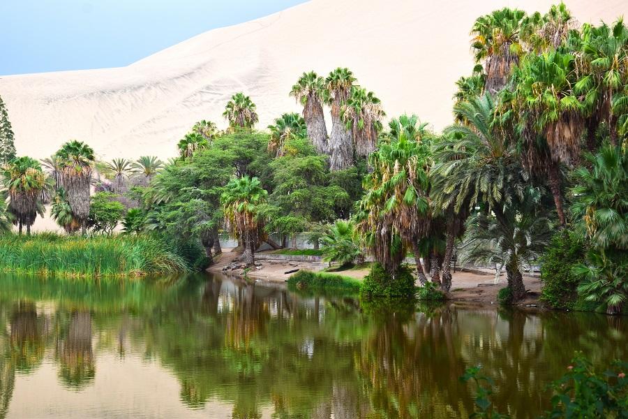 Η όαση Huacachina είναι ένας παράδεισος στο Περού