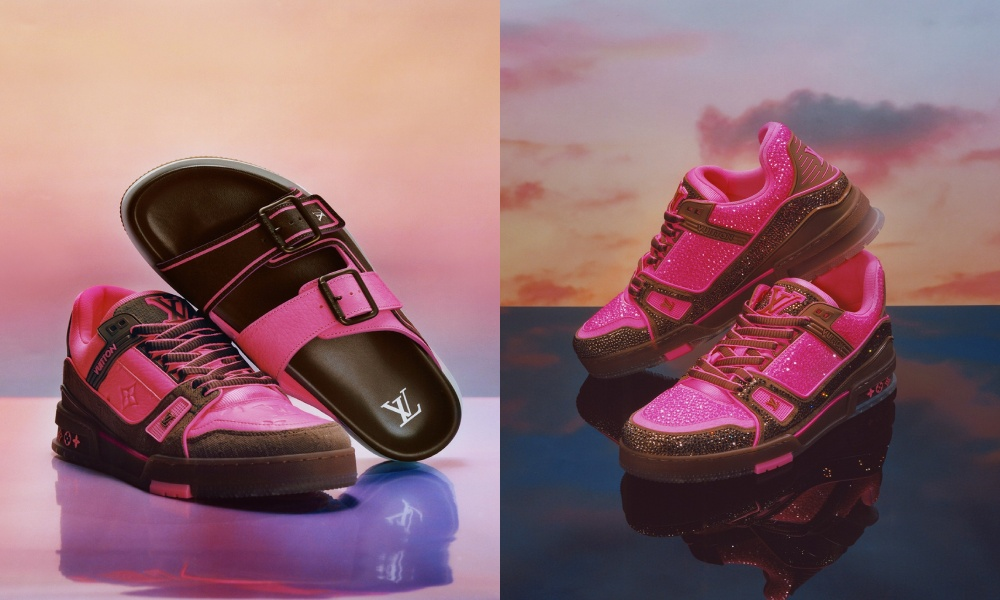 Louis Vuitton sneakers and sandals