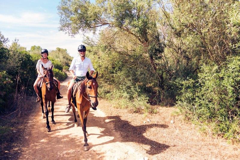 horse riding Porto Carras