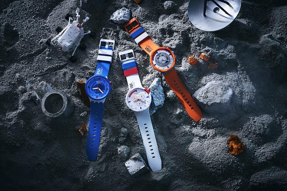 Η νέα συλλογή της Swatch έρχεται από το διάστημα