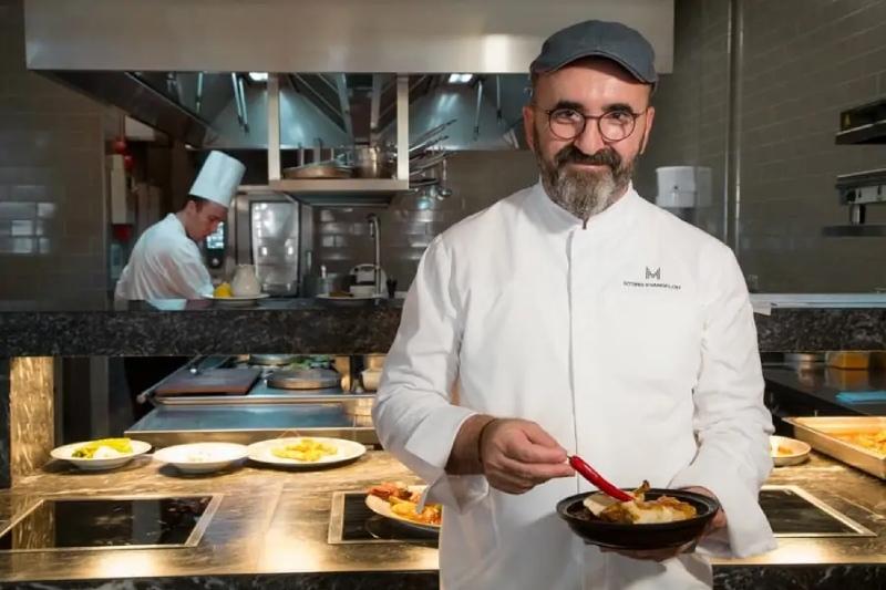 sotiris evaggelou chef