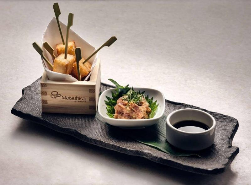 Matsuhisa Mykonos dish