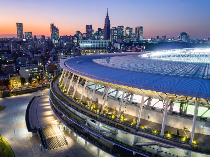 Kengo Kuma Japan National Stadium