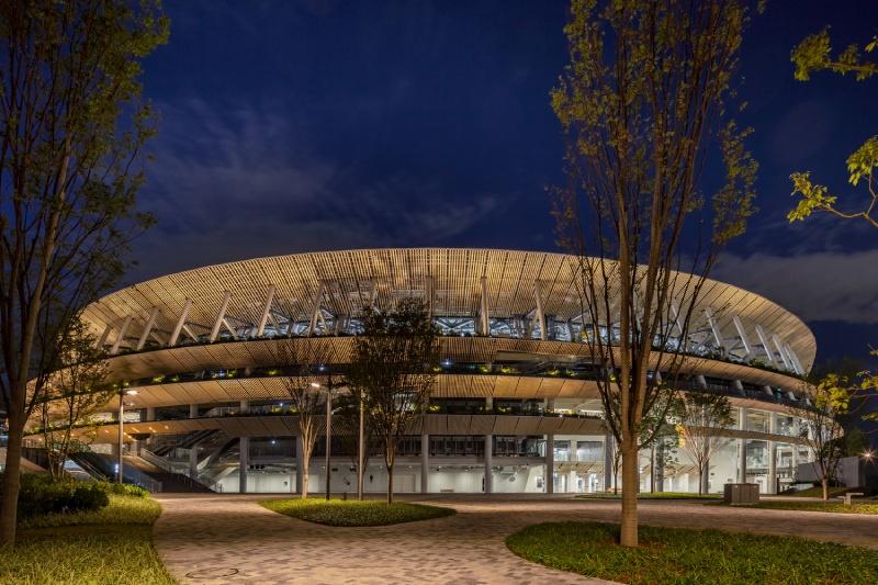Japan National Stadium kengo kuma