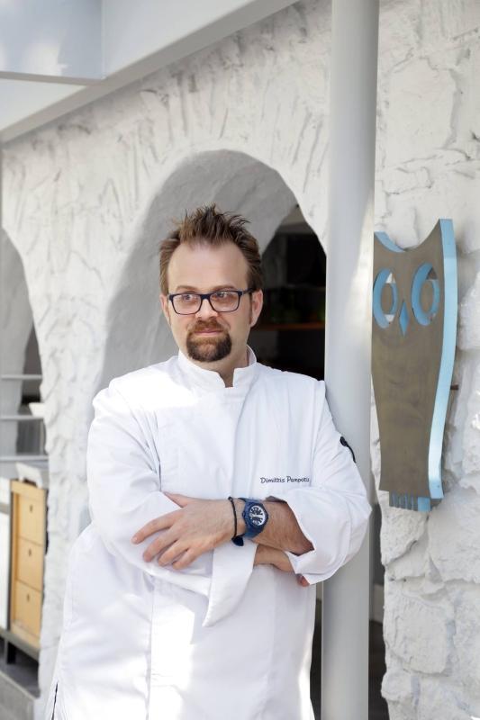 dimitris pamporis chef