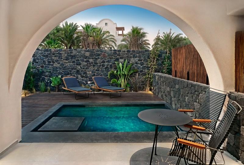 Radisson private pool