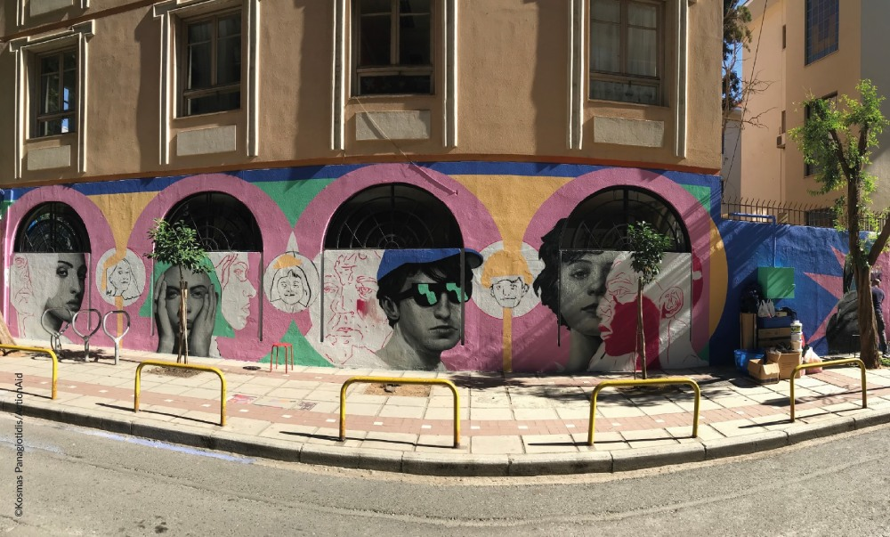 actionaid murals