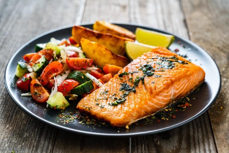 study salmon