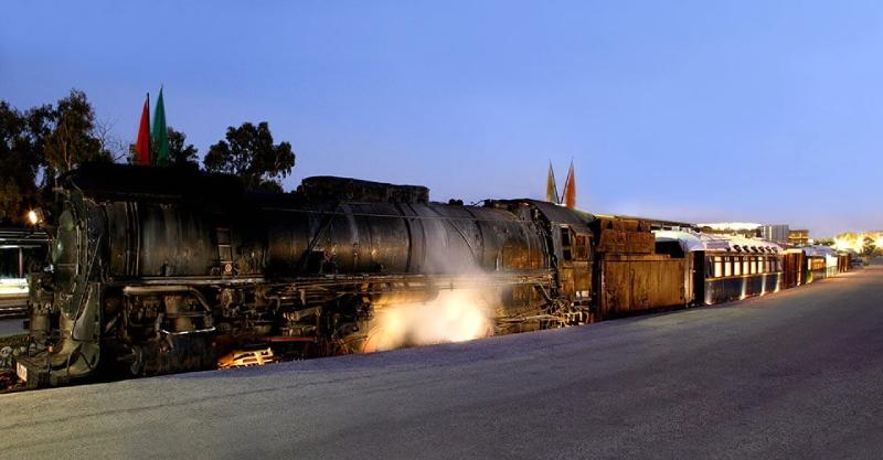 treno sto rouf art wagons