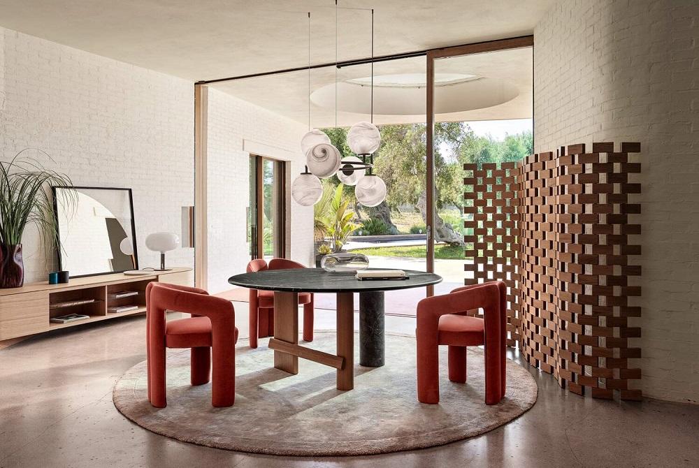 Dudet, η νέα πολυθρόνα σε σχεδιασμό της Patricia Urquiola